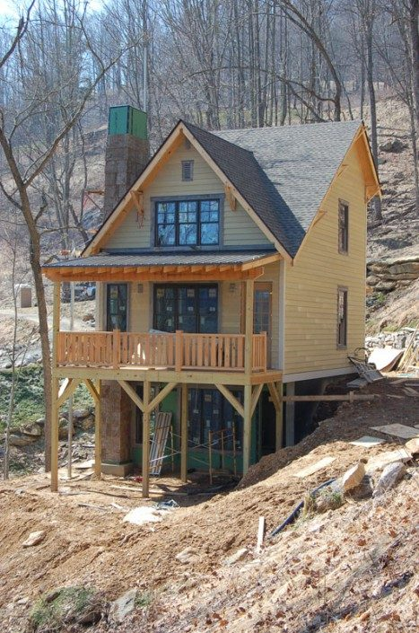 Exterior View | Sustainable Home | WNC