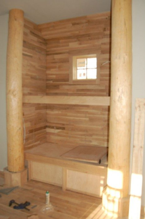 Loft Built-in   Green Home   Asheville NC