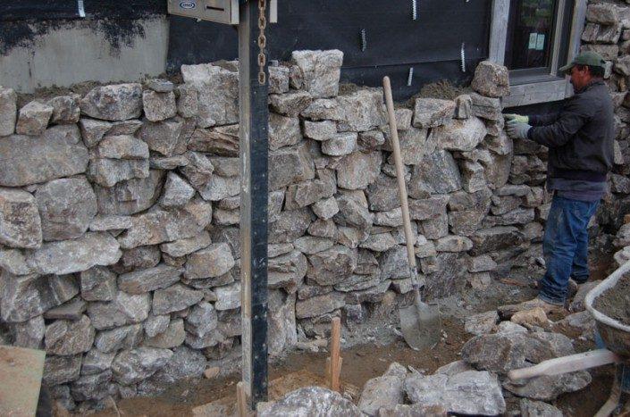 Stone masonry   Green Home   Asheville