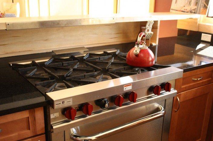 Gas Stove   Green Home   Asheville NC
