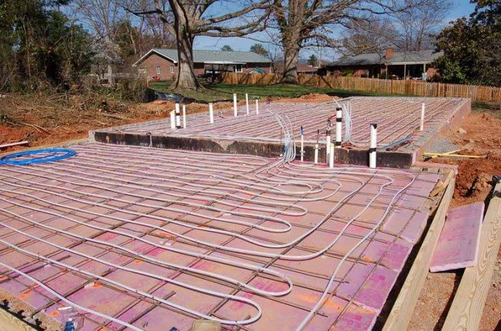 Radiant Heat   Green Home   Asheville NC