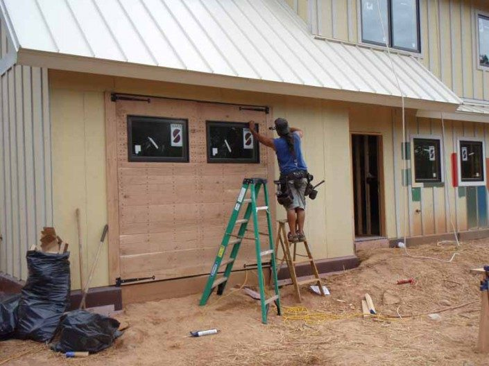 Barn Doors | Garage | Green Home | WNC