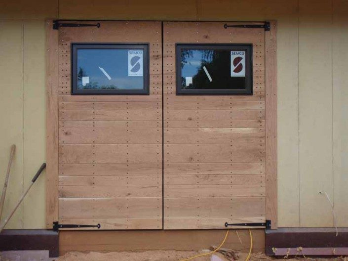 Barn Doors   Garage   Green Home   WNC