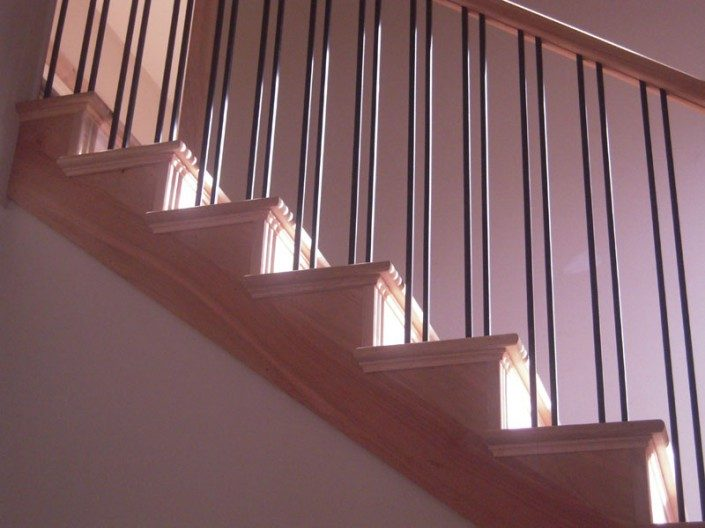 Staircase | Green Home | Asheville NC