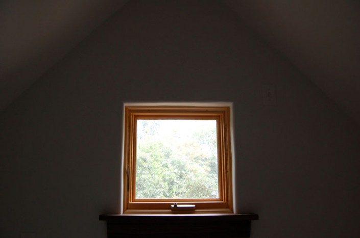 Square Window   Green Home   Asheville NC