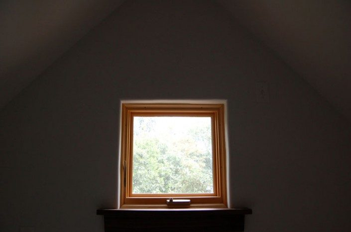 Square Window | Green Home | Asheville NC