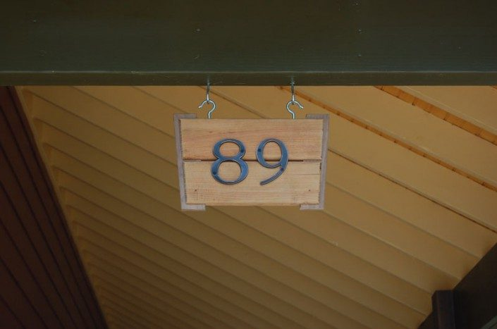 House Number | Jade Mountain Builders