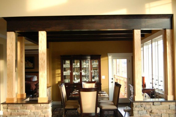 Green Home | Dining Area | WNC