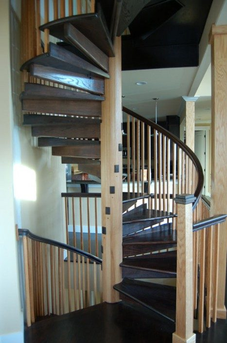 Spiral Staircase | Green Built | NC