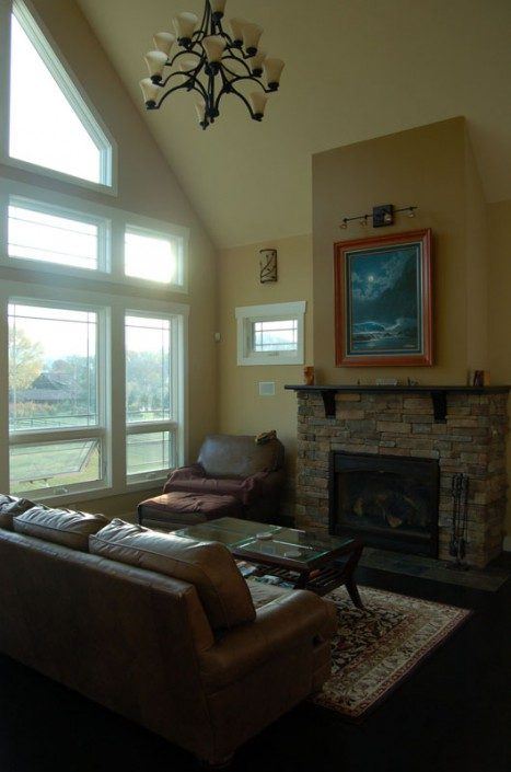 Living Room | Asheville NC | Green Home