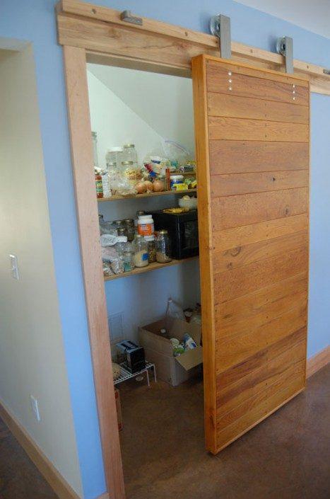 Sliding Barn Doors | Green Home | Asheville NC