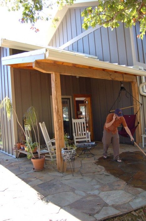 Porch | Sustainable Home | Asheville NC
