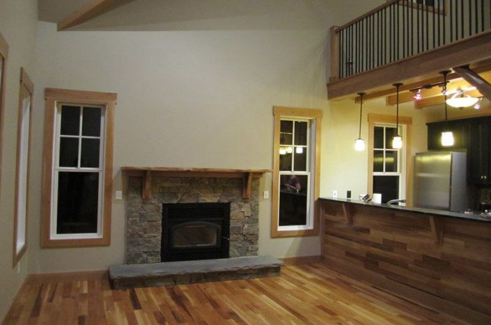 Living Area | Eco-friendly Home | WNC
