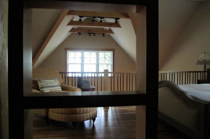 Loft Bedroom | Asheville NC | Green Home