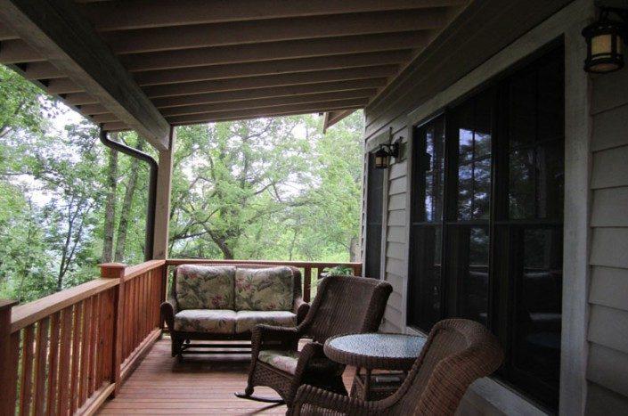 Cozy porch   Green Built   Asheville