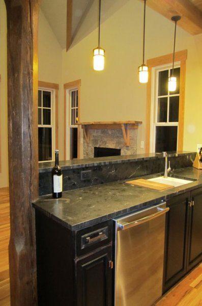 Kitchen | Bar | Green Home | Asheville