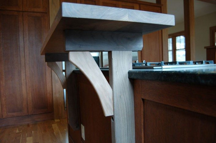 Detail of Serving Counter | Green Home | WNC