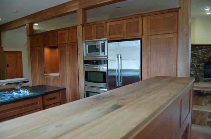 Kitchen Counter | WNC | Jade Mountain Builders