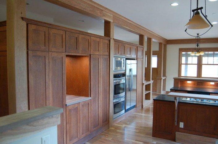 Kitchen Detail | WNC | Jade Mountain Builders
